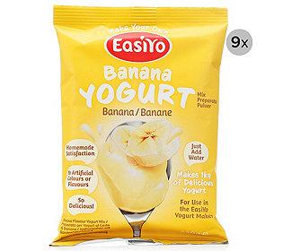 Joghurtpulver Banane