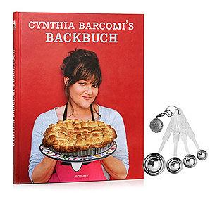 Backbuch + 4 Messlöffel