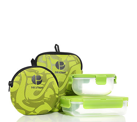 Prêt a Paquet Snackbox & Sandwichbox 360ml & 560ml 2-tlg.