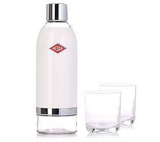 Wasserkaraffe & 2 Gläser