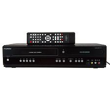 Funai VCR/DVD Recorder w/ 5 Recordable DVDs & HDMI Cable