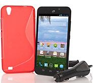 TracFone ZTE Quartz Android Smartphone with 1200 Minutes & Accessories - E229400