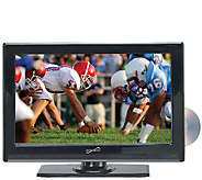 SuperSonic 22 Class WS LED HDTV with Built-inDVD Player - E258000