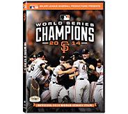 San Francisco Giants 2014 World Series DVD - E291000