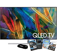 Samsung 55 QLED 4K HDR Elite Smart UHDTV withHDMI & App Pack - E291100