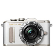 Olympus PEN E-PL8 16.1MP Mirrorless Camera with14-42mm Lens - E292100