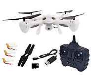 Hoverway Alpha Translucent Camera Drone, Auto Hover, 8GB Storage, Extras - E229001