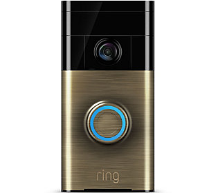 Ring Video Doorbell Two-Way Audio, HD Surveillance 3 Year Warranty