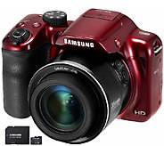 Samsung 16.2MP WB1100 Digital Smart Camera with16GB SD Card - E280501