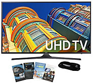 Samsung 60 Smart LED 4K Ultra HDTV with HDMI Cable & App Pac - E289001