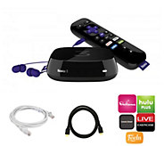 Roku 3 Streaming Player with Software, HDMI & Ethernet Cables - E289101