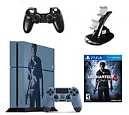 PlayStation 4 500GB Uncharted 4 Limited Edition& Accessories - E291501