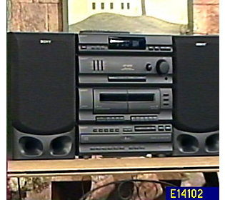 Audiovox Am Fm 5 Cd Changer Stereo System W Dual Cassette