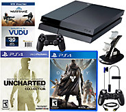 Sony PS4 Uncharted Bundle with Destiny & Accessories - E228402