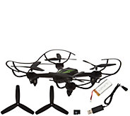 Hoverway AVA WiFi Drone 720P HD, Extra Blades, Battery MicroSD Card - E229002