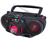 Naxa Portable MP3/CD Player w/ Radio Cassette Player/Recorder - E272302