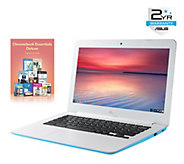 Asus 13 Chromebook - Intel, 4GB, 16GB eMMC w/Software & 2-Yr - E287902