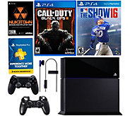 Sony PS4 500GB Call of Duty Bundle w/ MLB The Show 16 & Accs. - E288002