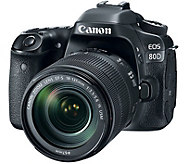 Canon EOS 80D DSLR Camera with 18-135mm Lens - E290302