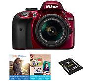 Nikon D3400 DSLR Camera with 18-55mm Lens - E290802