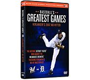 Baseballs Greatest Games: Verlanders 2007 No-Hitter DVD - E291002