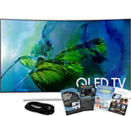 Samsung 55 QLED Curved 4K HDR Elite Smart UHDTV w/ App Pack - E291102