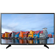 LG 43 Full HD Smart LED TV w/ built-in WiFi and Triple XD Engine - E229503