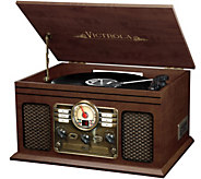Victrola Classic 6-in-1 Wooden Turntable with Bluetooth - E230703