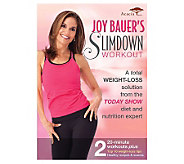 Joy Bauers Slimdown Workout - DVD - E271103
