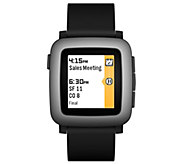 Pebble Time Smartwatch Compatable with iOS & Android - E286103