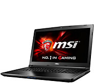 MSI GL72 17 Gaming Computer - Core i5, 8GB RAM, GTX 950M - E288603