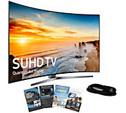 Samsung 65 Class LED Curved SUHD TV with App Pack, HDMI Cabl - E289203