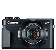 Canon PowerShot G7 X Mark II Digital Camera - E293803