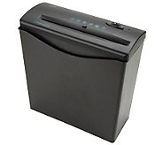 Royal 6-Sheet Strip-Cut Shredder with Basket - E203504