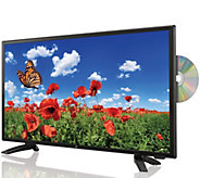 GPX 24 1080p DLED HDTV w/ Built-in Up-Converting DVD Player - E228504