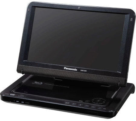 panasonic portable blu ray dvd cd player with hdmi output e249304. Black Bedroom Furniture Sets. Home Design Ideas