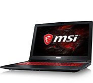 MSI 15.6 Gaming Laptop - Intel i7, 8GB RAM, 1TB HDD, GTX 105 - E292604