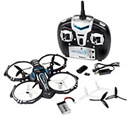 Zero Gravity X2 Drone QuadCopte Indoor/Outdoor HD Photo, Video Camera & Remote - E228605