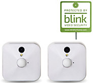 Blink Set of 2 Wire-Free HD Indoor Security Cameras Live Monitoring - E230705