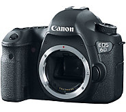 Canon EOS 6D 20.2MP DSLR Camera Body Only (Lens Required) - E271905