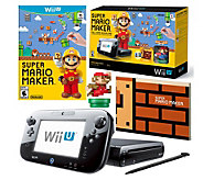 Wii U Mario Maker Bundle with Classic Mario amiibo - E288805