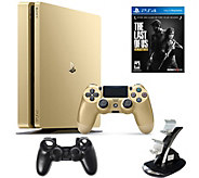 Sony PlayStation 4 Slim 1TB Gold LE Bundle w/The Last of Us - E291505