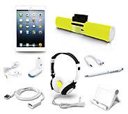 Apple iPad Mini 16GB WiFi with Speaker Stand & 7 Piece Accessory Kit - E227006
