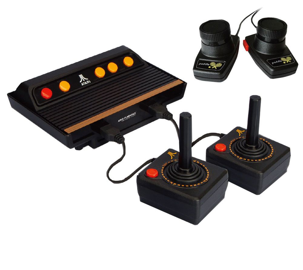 atari flashback 5 deluxe game console page 1. Black Bedroom Furniture Sets. Home Design Ideas