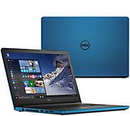 Dell 15 Laptop Windows 10 AMD Quad Core 6GB RAM 1TB HDD w/Lifetime Tech - E229706