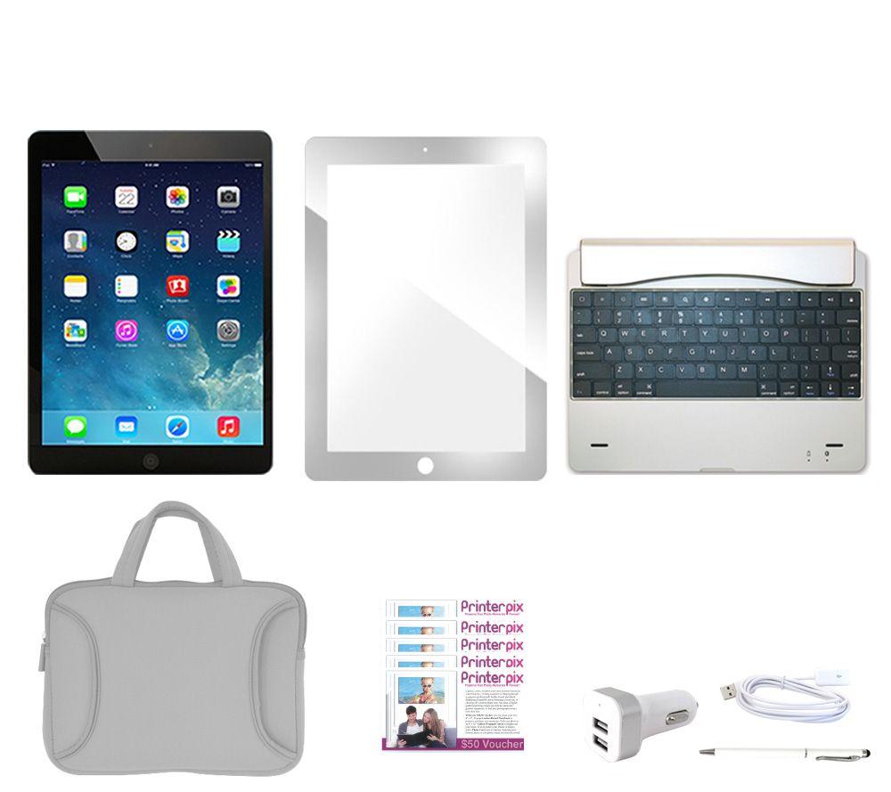 apple ipad mini 2 wi fi 32gb with keyboard case screen. Black Bedroom Furniture Sets. Home Design Ideas