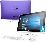 HP 22 Touch All-in-One PC 8GB RAM 1TB HDD w/ Life Time Tech Support - E230506