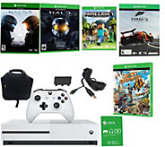 Xbox One S 500GB Minecraft Bundle with Halo, More Games - E290206