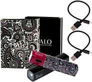Halo Set of 2 Shine 3000 mAh Portable Chargers with Flashlight - E230107