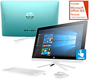 HP 22 Touch All-in-One PC 8GB RAM 1TB HDD w/LifetimeTech & MSOffice 365 - E230507
